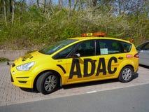 ADAC服务汽车 图库摄影