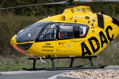 ADAC air rescue helicopter Christoph 20 Bayreuth