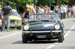 ADAC historic rally Royalty Free Stock Photography