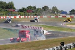 ADAC LKW-großartiges-Prix Nürburgring Lizenzfreie Stockfotos