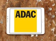 ADAC, logo tedesco generale dell'Automobile Club Immagini Stock Libere da Diritti