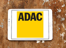 ADAC, logotipo alemão geral do clube de automóvel Imagens de Stock Royalty Free