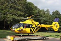 ADAC Luftrettungshubschrauber Lizenzfreie Stockfotografie