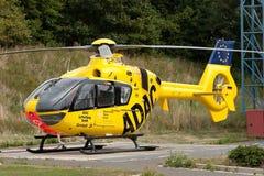 ADAC-Luftrettungshubschrauber Lizenzfreies Stockfoto