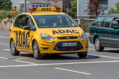 ADAC-Service-Auto Stockfotos