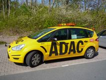 ADAC service car Stock Photography