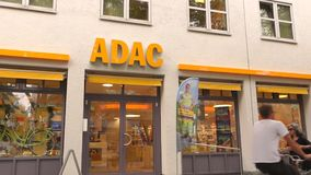 ADAC stock video footage