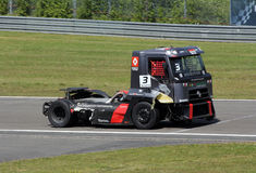 ADAC Truck-Grand-Prix Nürburgring Royalty Free Stock Photos