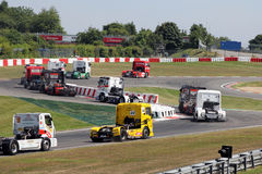 ADAC Truck-Grand-Prix Nürburgring Stock Photography