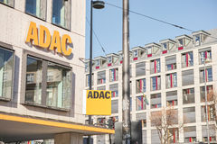 ADAC-Zeichen Lizenzfreie Stockbilder