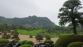 Adachi-Museum von Art Gardens in Matsue, Japan Lizenzfreie Stockfotografie