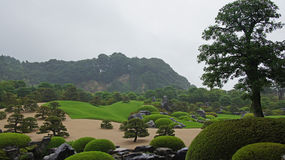 Adachimuseum van Art Gardens in Matsue, Japan royalty-vrije stock fotografie