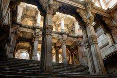 Adalaj-Schritt gut in Ahmadabad, Indien Stockbild