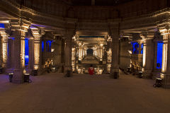 Adalaj-Schrittbrunnen Ahmedabad, Gujarat Stockbild