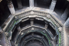 Adalaj step well Royalty Free Stock Images
