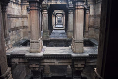 Adalaj Step well Stock Image