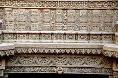 Adalaj step well, ahmadabad Stock Image