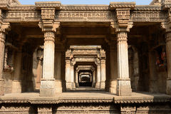 Adalaj step well in Ahmadabad, India Royalty Free Stock Photography