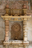 Adalaj step well in Ahmadabad, India. Adalaj Stepwell is a Hindu water building in the village of Adalaj, close to Ahmedabad town in the Indian state of Gujarat Stock Photography