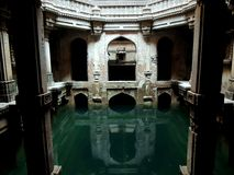 Adalaj Stepwell Images stock