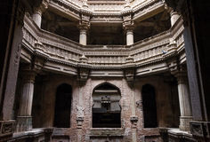 Adalaj Stepwell in Ahmedabad, Gujarat stockbild