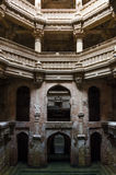 Adalaj Stepwell Royalty Free Stock Photography