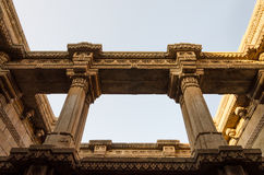 Adalaj Stepwell in Ahmedabad, Indien Stockbild