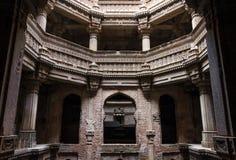 Adalaj Stepwell w Ahmedabad, Gujarat Obraz Stock