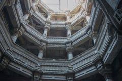 Adalaj Wav eller moment väl på Ahmedabad Arkivfoto