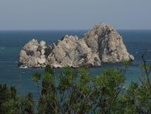 Adalary Rocks, Crimea, Ukraine Royalty Free Stock Images