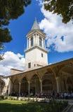 Adalet Kulesi in Topkapi-Palast, Istanbul, die Türkei Lizenzfreies Stockbild