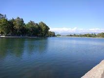 Adalia Manavgat che trema lago Fotografie Stock Libere da Diritti
