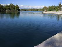 Adalia Manavgat che trema lago Immagini Stock