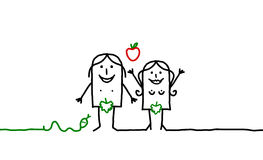 Adam & Eve Fotografia Stock Libera da Diritti