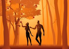 Adam And Eve Royalty Free Stock Images