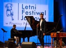 Adam Baldych - polnischer Violinist Stockbilder