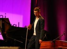 Adam Baldych - polnischer Violinist Stockfotos