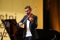 Adam Baldych - polnischer Violinist Lizenzfreie Stockfotografie