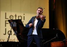 Adam Baldych - polnischer Violinist Lizenzfreie Stockfotos