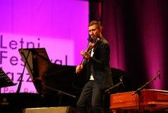 Adam Baldych - polnischer Violinist Stockfotografie