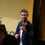 Adam Baldych - polnischer Violinist Lizenzfreies Stockfoto