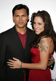 Adam Beach und Tara Mason Stockfoto