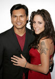 Adam Beach und Tara Mason Lizenzfreies Stockfoto