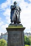 Adam Black Statue Lizenzfreies Stockfoto