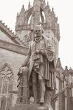 Adam Black Statue durch Hutchison 1877, königliche Meilen-Straße; Edinbu Lizenzfreie Stockbilder