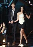 Adam Brody and Megan Fox Stock Photos
