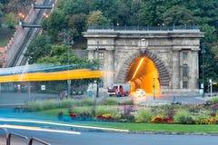 Adam Clark Tunnel unter Schloss-Hügel Lizenzfreie Stockfotos