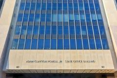 Adam Clayton Powell stanu budynek biurowy - NYC fotografia stock