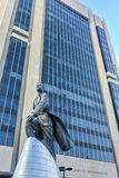 Adam Clayton Powell Statue - NYC. Adam Clayton Powell, Jr. statue in New York. Adam Clayton Powell, Jr. was an American politician and pastor who represented Stock Image