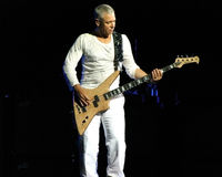 Adam Clayton from U2 live in Turin 2010 Stock Photos